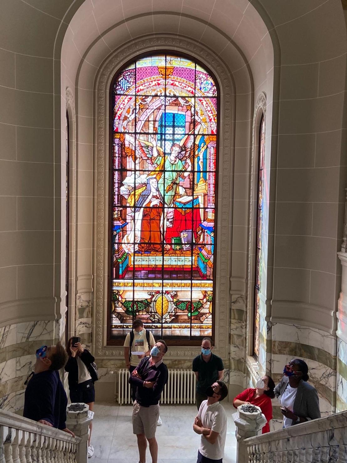 De Open Monumentendagen van het Brussels Hoofdstedelijk Gewest – in 2020 in het teken van 'Kleur' – hebben een ongelofelijk succes geoogst