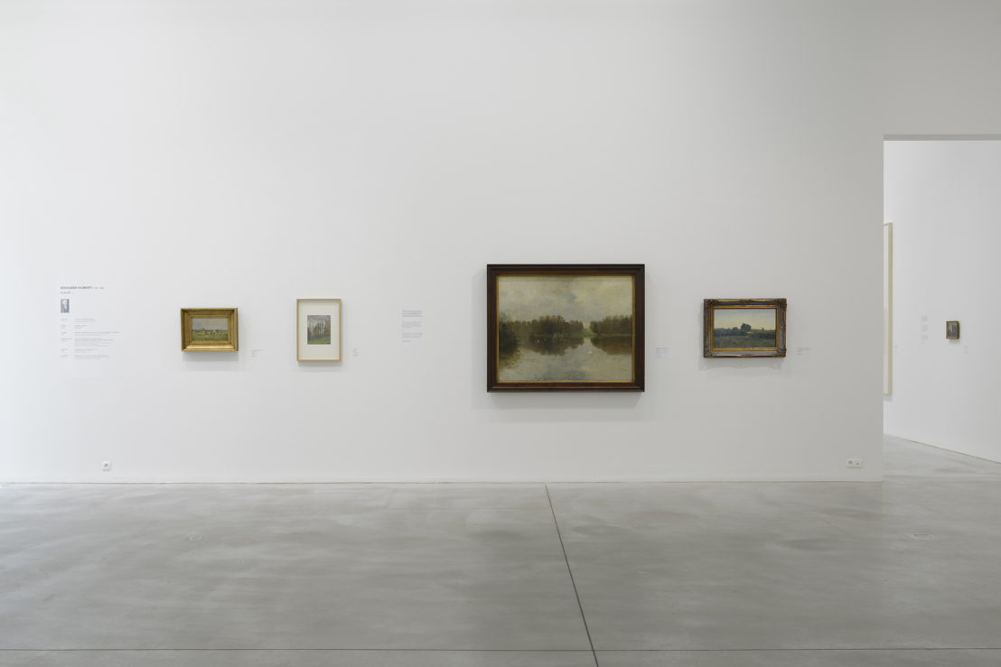 View at the exhibition with works from  Edouard Huberti (c) Isabelle Arthuis