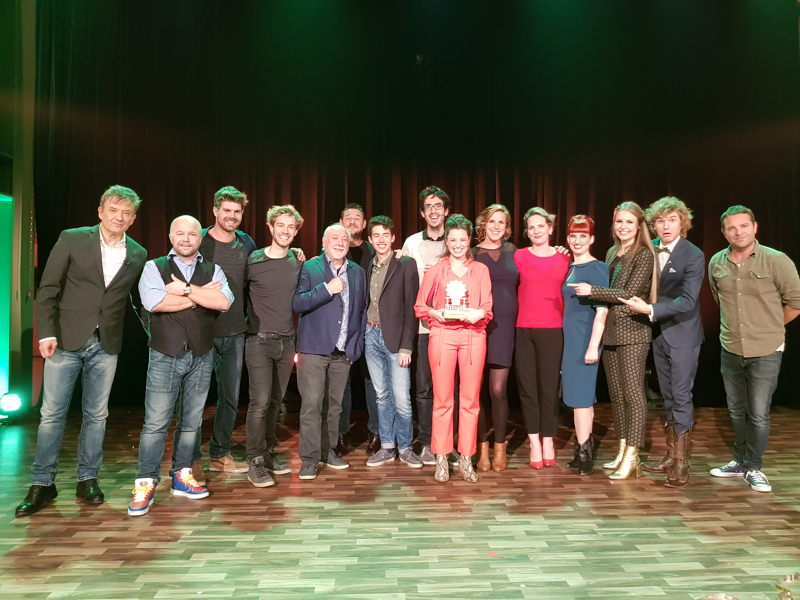 Anouck krijgt de Gouden Leeuw- (c) VRT