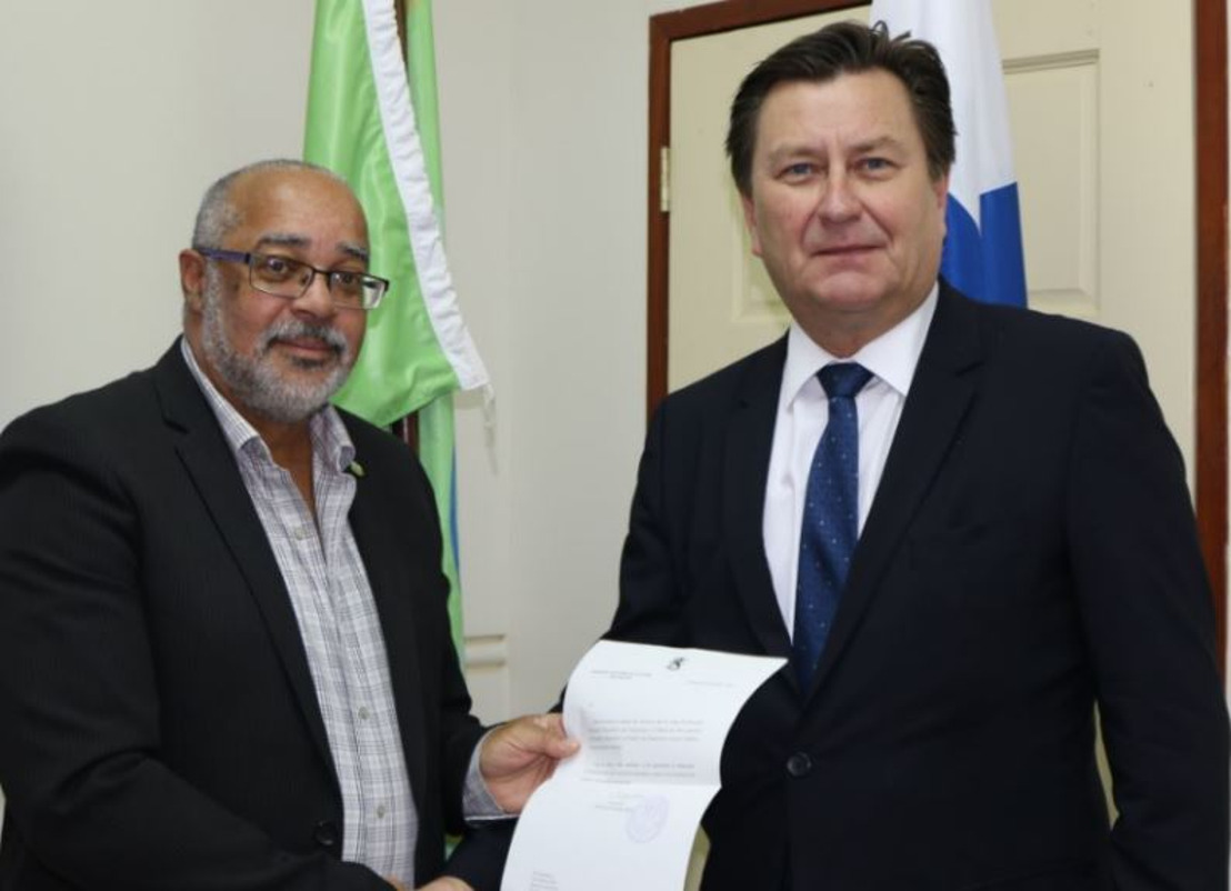 Finnish Ambassador presents credentials to OECS Director General
