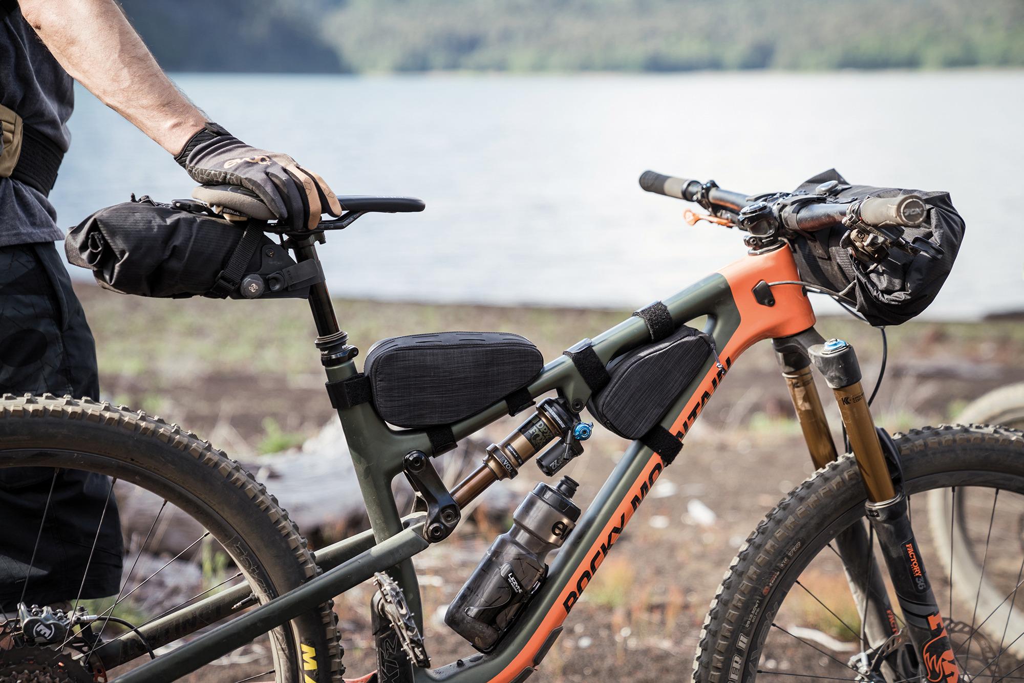 EVOC Sports Top Tube On Bike Packs