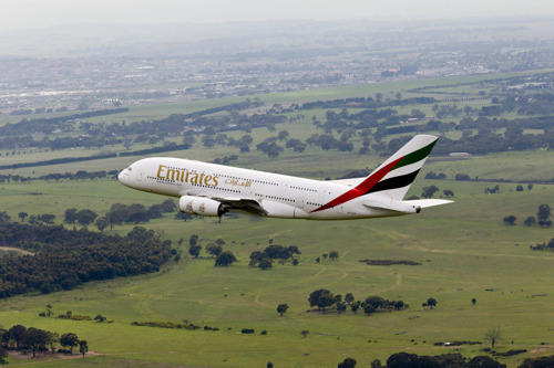 Emirates' A380 to make a One-Off trip to Manila