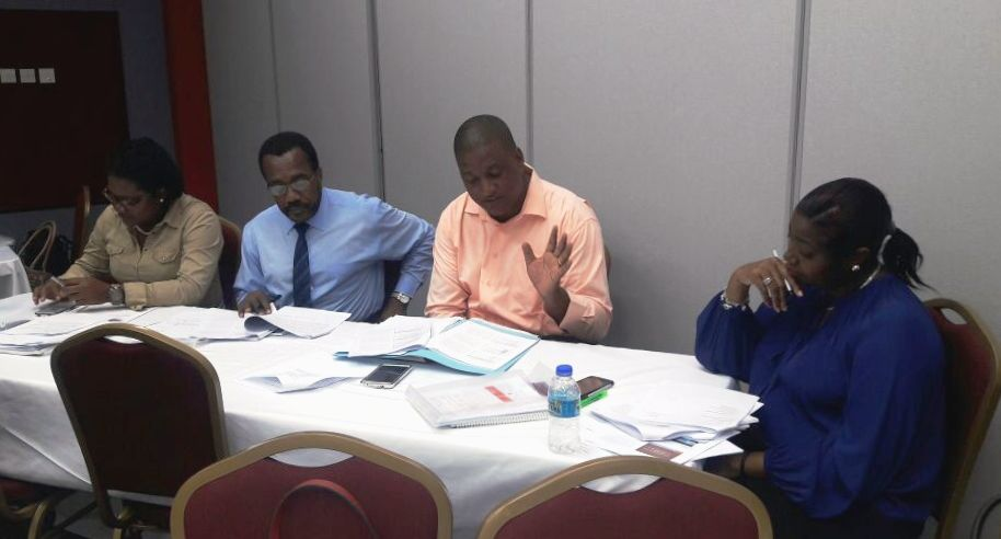 Participants engage in group discussion.