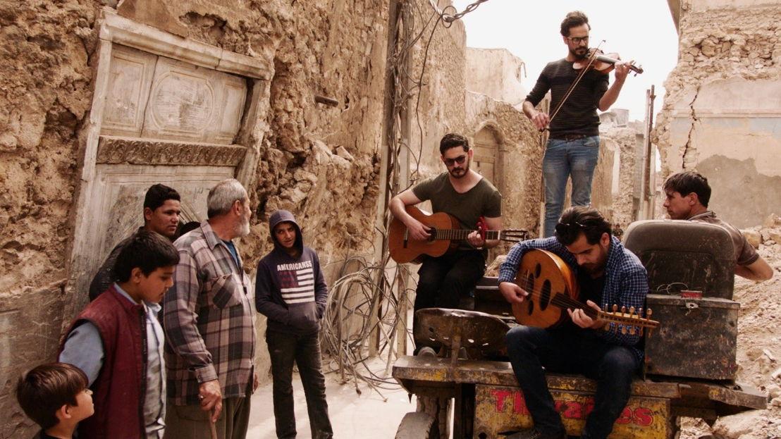 Hakam, Khalid en Mohammed in Mosul - (c) VRT