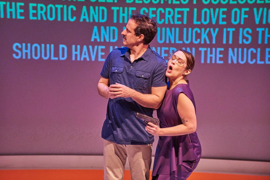 10. Dan Triandiflou and Amber Nash (photo by Chris Bartelski)