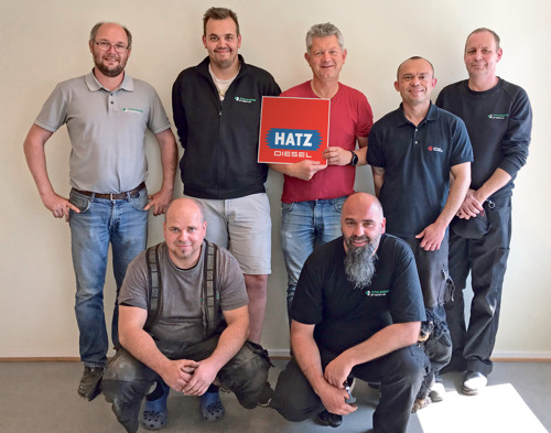 Even closer to the customer: Anleggsgruppen now exclusive Hatz sales partner in Norway