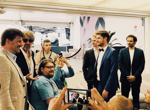 Gatz in Cannes om Vlaamse film te promoten