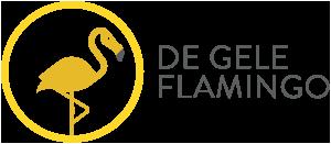 De Gele Flamingo perskamer Logo