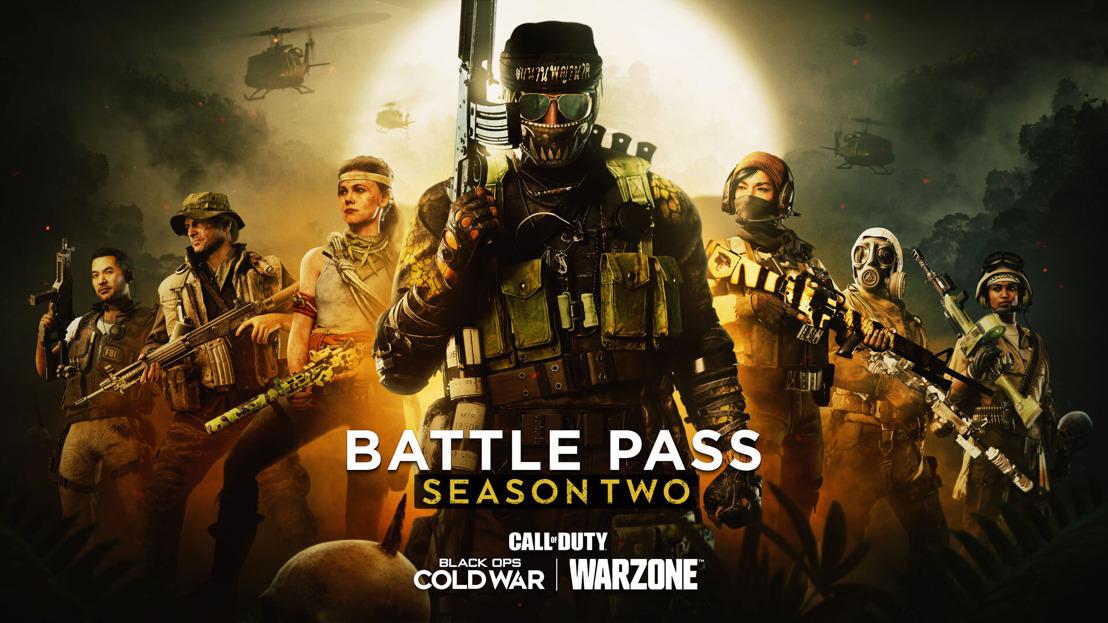 Conoce el Pase de Batalla de la Temporada Dos y los paquetes iniciales de Call of Duty®: Black Ops Cold War y Warzone™