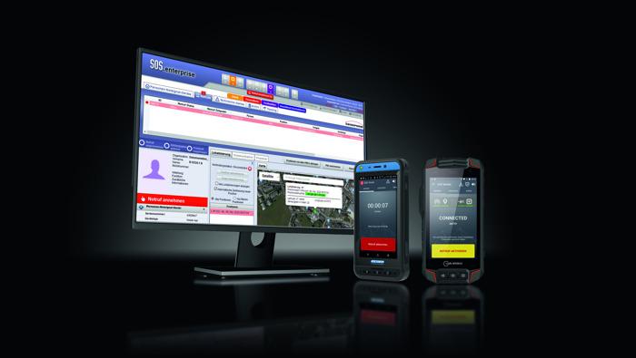 Preview: Sauveur de vies - Le système de protection des travailleurs isolés Swissphone SOS certifié.