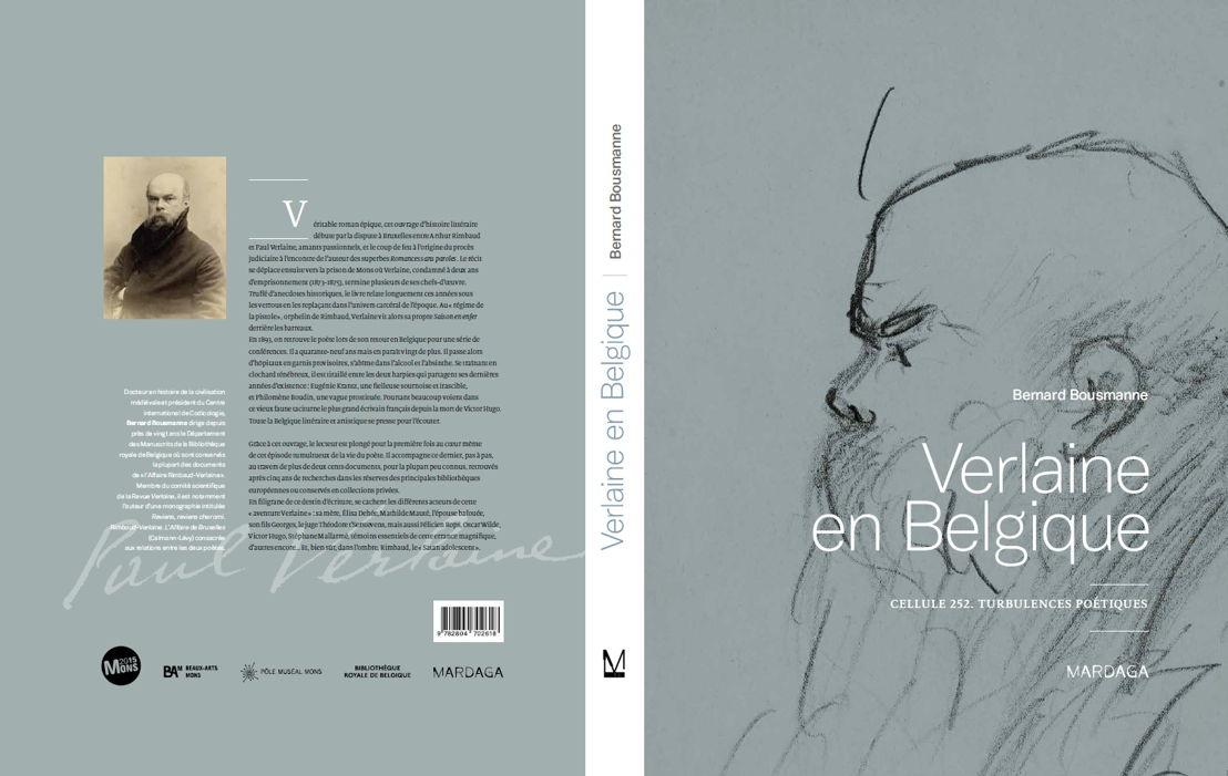 """Couverture """"Verlaine en Belgique"""""""