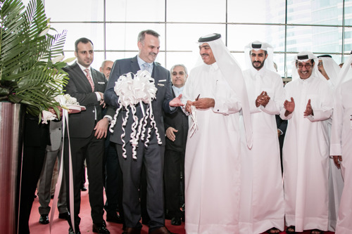H.E MR MOHAMMED BIN ABDULLAH AL RUMAIHI MINISTER OF MUNICIPALITY INAUGURATES THE BIG 5 QATAR