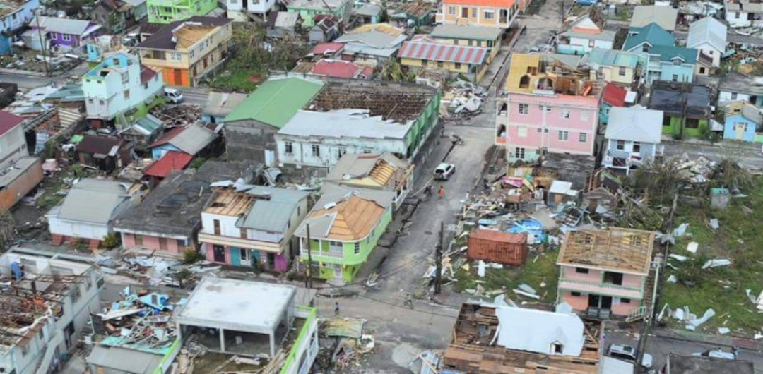 Dominica in the wake of Hurricane Maria.
