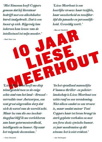 Coppers trakteert! 10 jaar Liese Meerhout