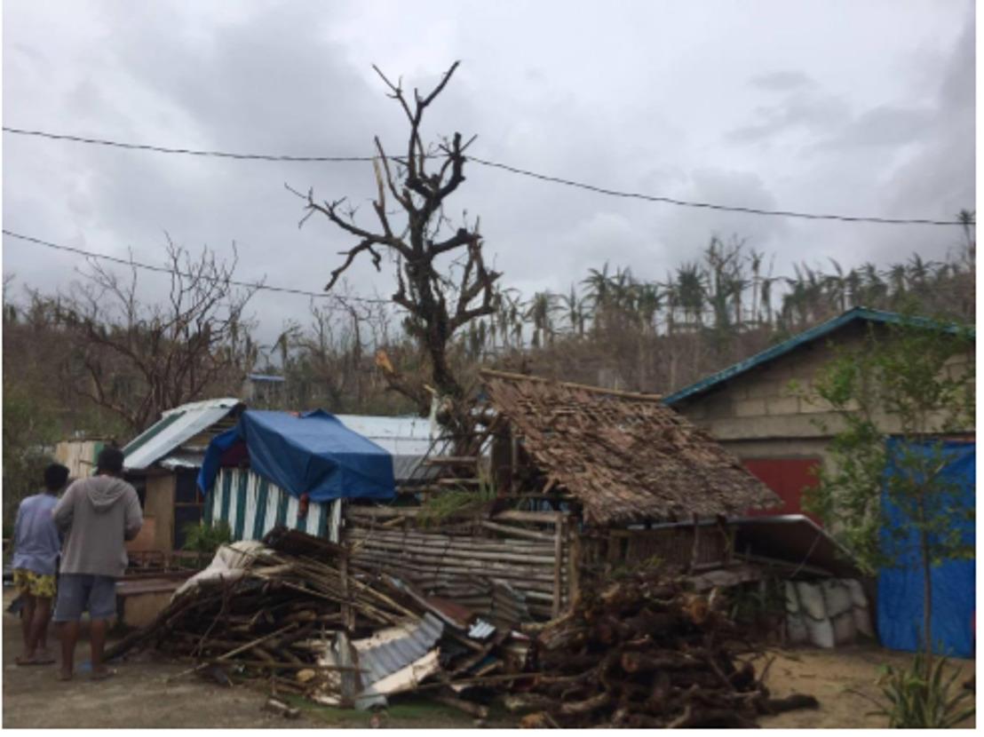Noodhulp voor slachtoffers supertyfoon in de Filipijnen