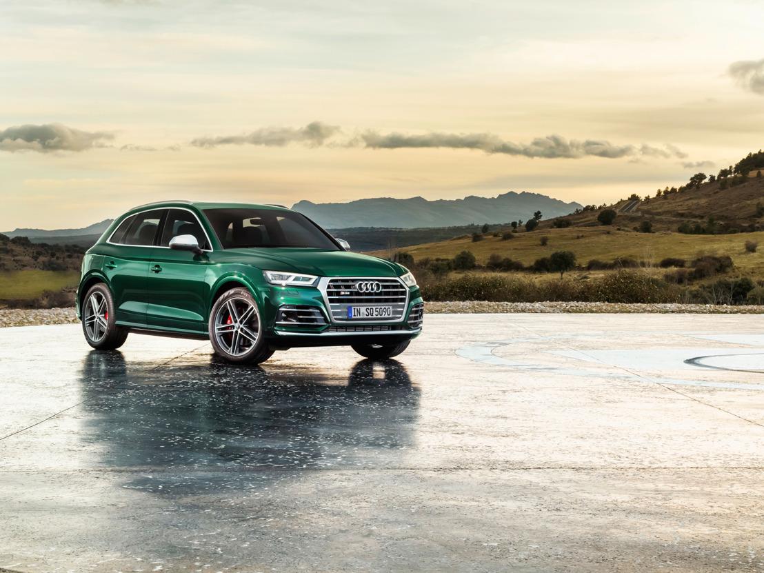 De nieuwe Audi SQ5 TDI: ogenblikkelijke performance dankzij elektrische compressor