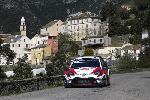 WRC Tour de Corse Preview - The Toyota Yaris WRC takes on the twisting turns of Corsica