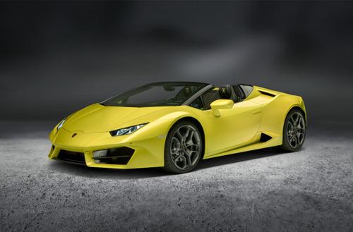 La Lamborghini Huracán RWD Spyder