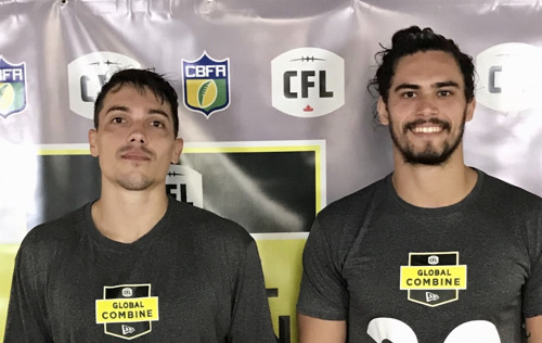 Klaus Pais et Luis Polastri Neto du Brésil participeront au camp d'évaluation de la LCF à Toronto