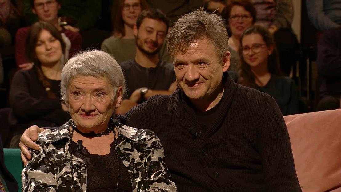 Suz Van Boekel, en zoon Bart Peeters in Van algemeen nut-(c)VRT