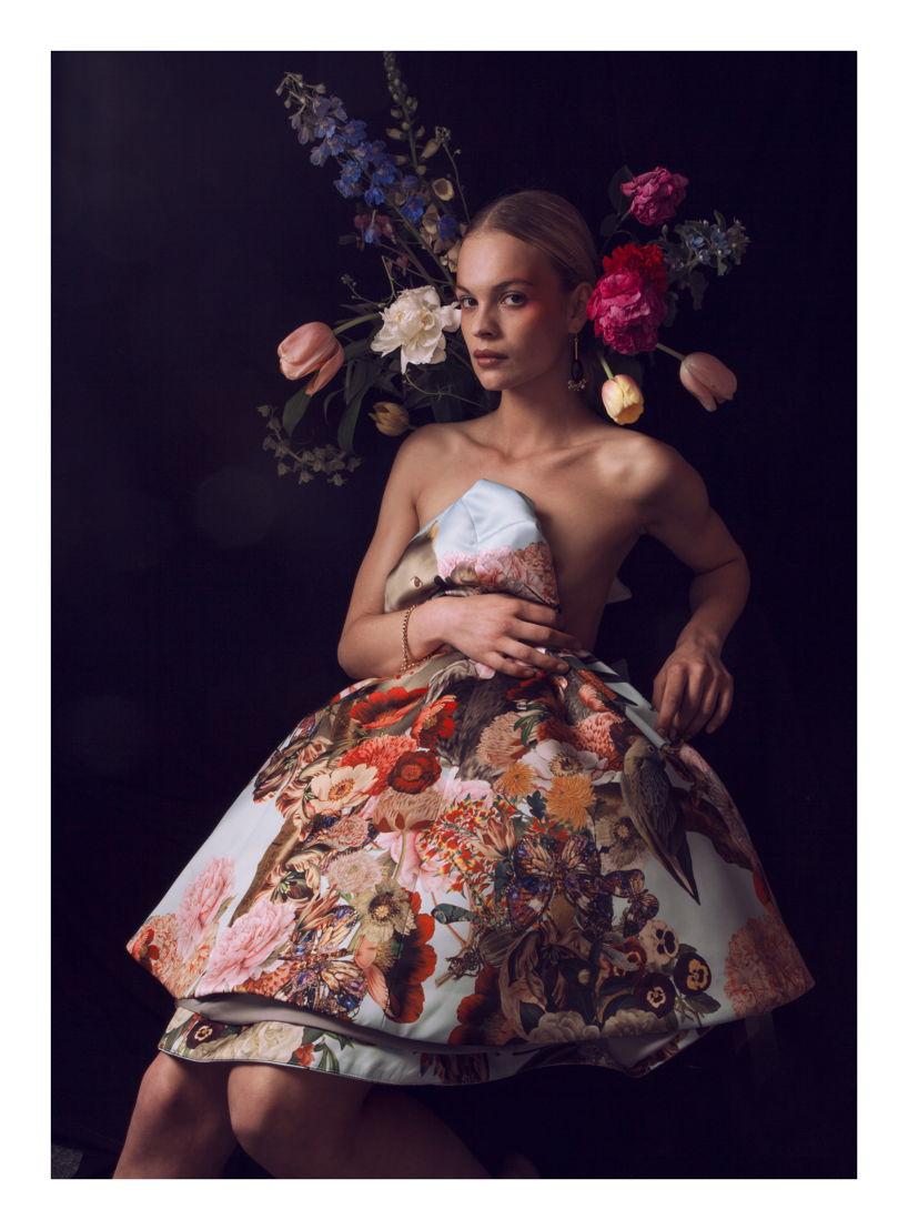 Meisje met tulpen <br/>(c)Athos Burez