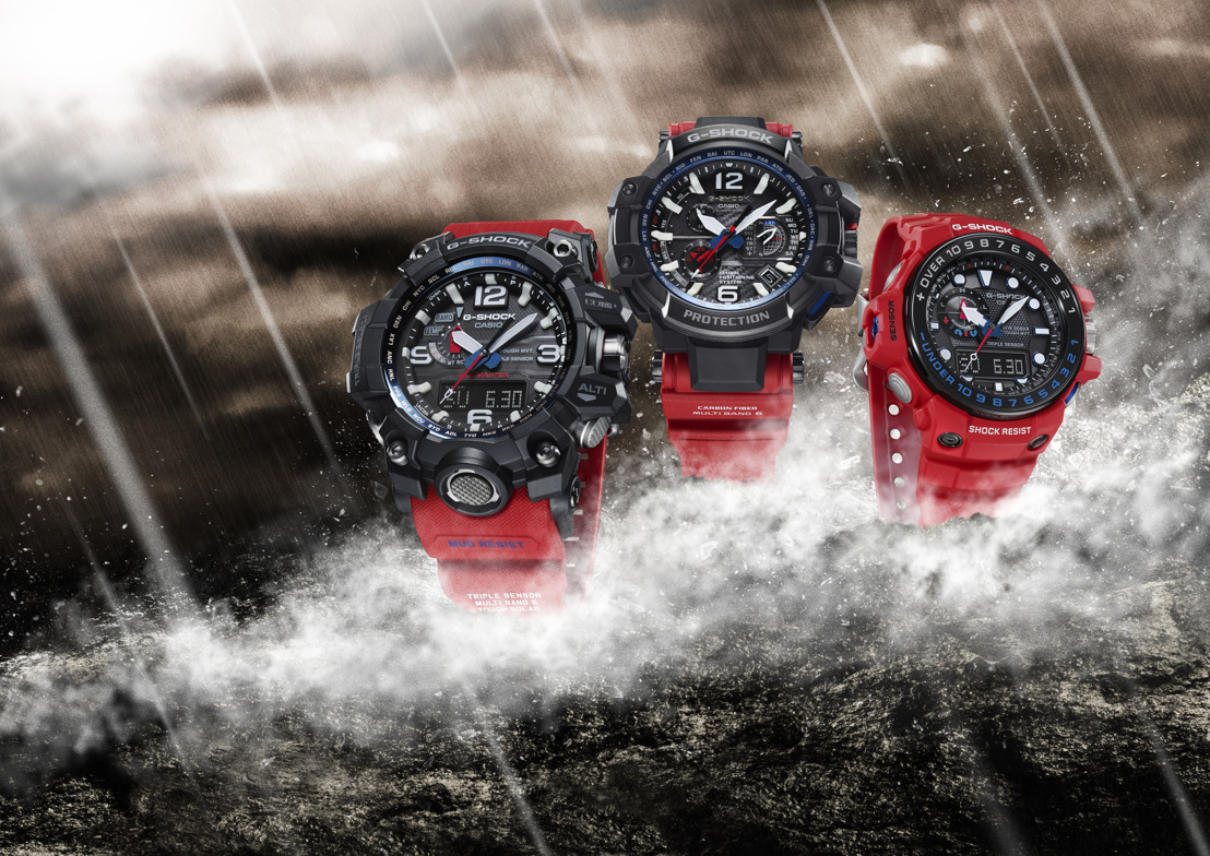 Resiste las condiciones extremas con estilo gracias a la nueva serie Rescue Red de G-Shock