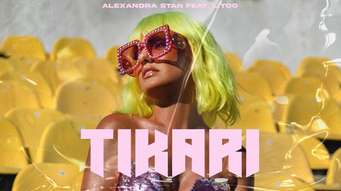 """ALEXANDRA STAN (POLYDOR FRANCE) : L'interprète de """"Mr Saxobeat"""" fait son grand retour avec son nouveau morceau """"Tikari"""""""