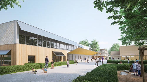 VUB Architectural Engineering publishes circular school design guide