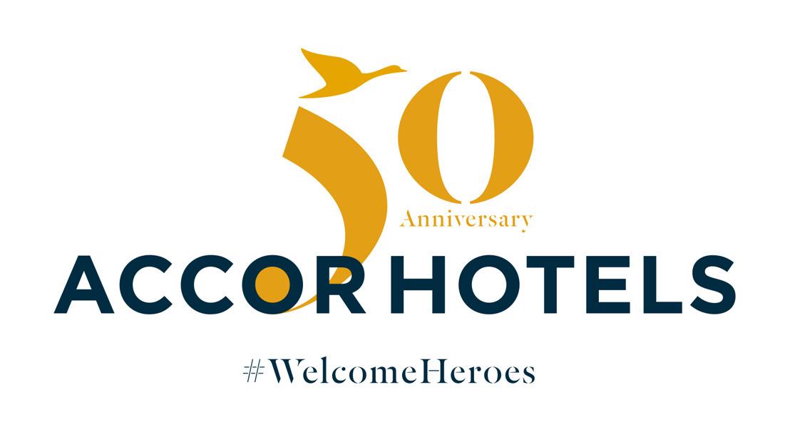 AccorHotels feiert seinen 50. Geburtstag und öffnet seine Türen für die Helden des Alltags