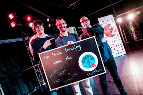 Benjamin Roeges wint De Humorklas 2020 van Radio 2