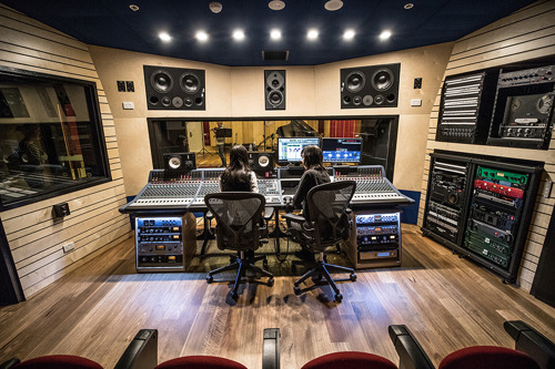 ANU unveils state-of-the-art music recording studio