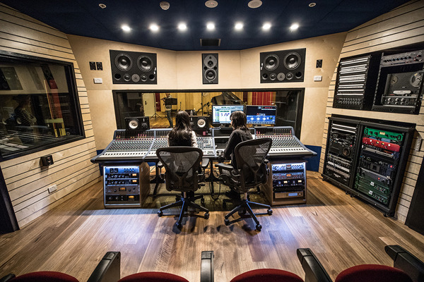 Preview: ANU unveils state-of-the-art music recording studio