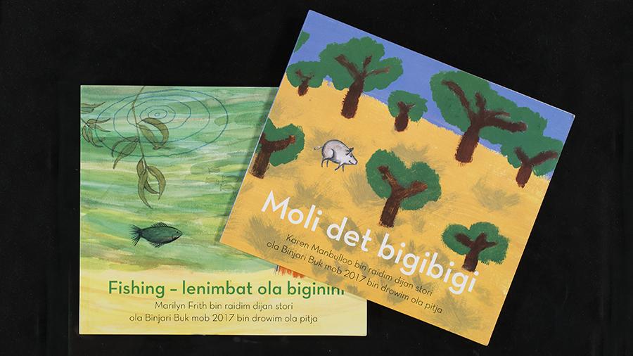 """""""Moli det bigibigi"""" which will be featured in Bologna. Image: Stuart Hay"""