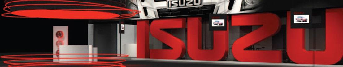 Isuzu geeft terug 5.000 gratis tickets weg voor het autosalon aan alle pick-up rijders van alle merken