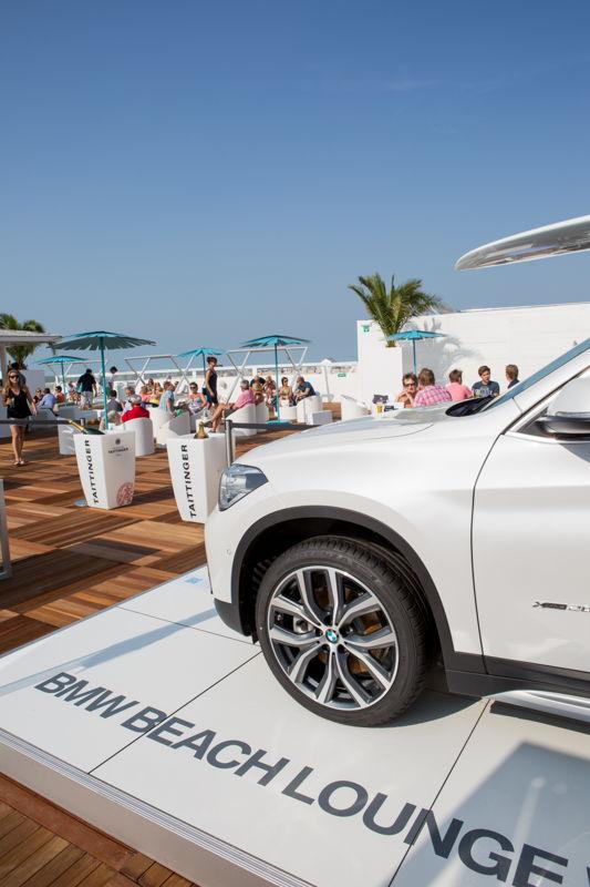 BMW Beach Lounge