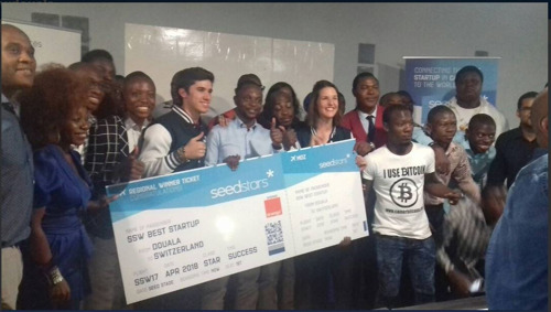 GIFTED MOM NAMED CAMEROON BEST STARTUP AT SEEDSTARS DOUALA