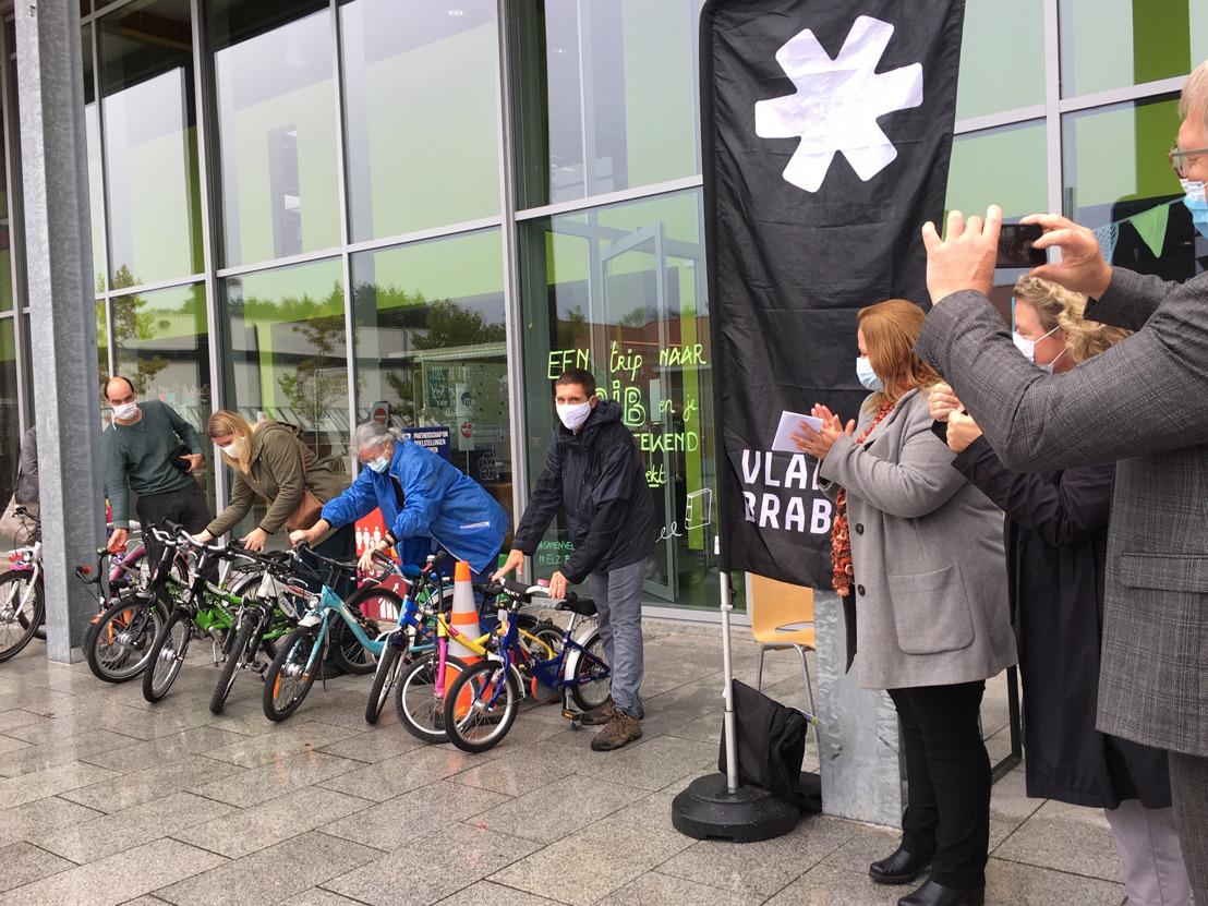 Start fietsotheek 'Op Wielekes' Zemst