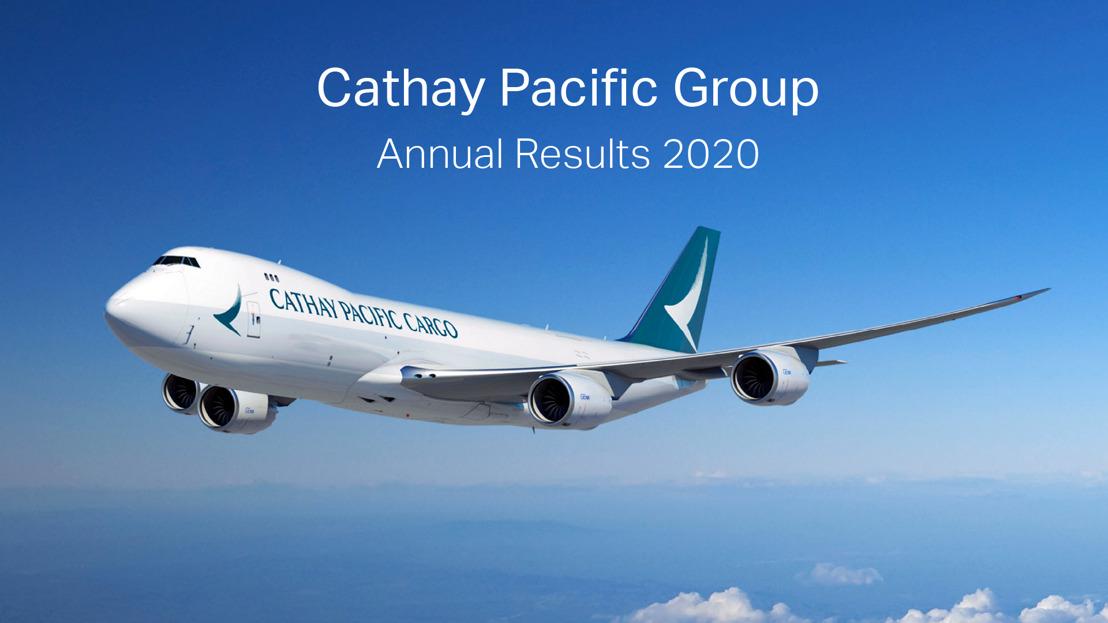 國泰航空公布2020全年業績