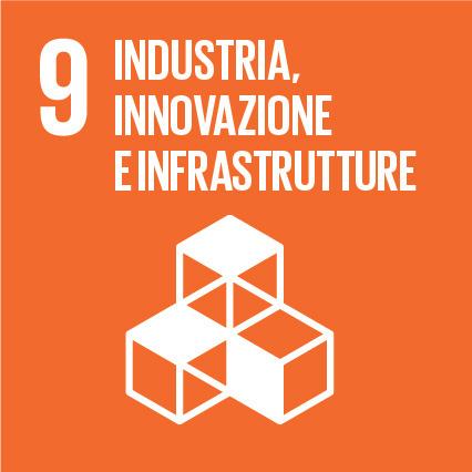 Goal #9: Costruire una infrastruttura resiliente e promuovere l'innovazione ed una industrializzazione equa, responsabile e sostenibile