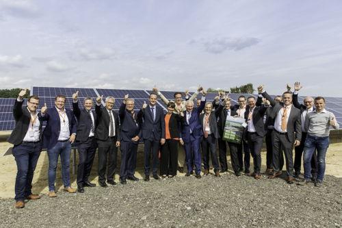 Preview: NMC en Luminus huldigen de grootste fotovoltaïsche installatie van de Duitstalige gemeenschap in