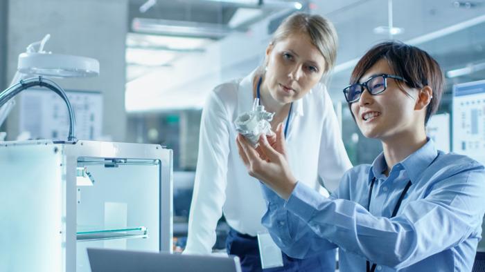 Preview: 3D-printing zit in de lift: aantal jobs verdubbelt van 1500 naar 3000 tegen 2024