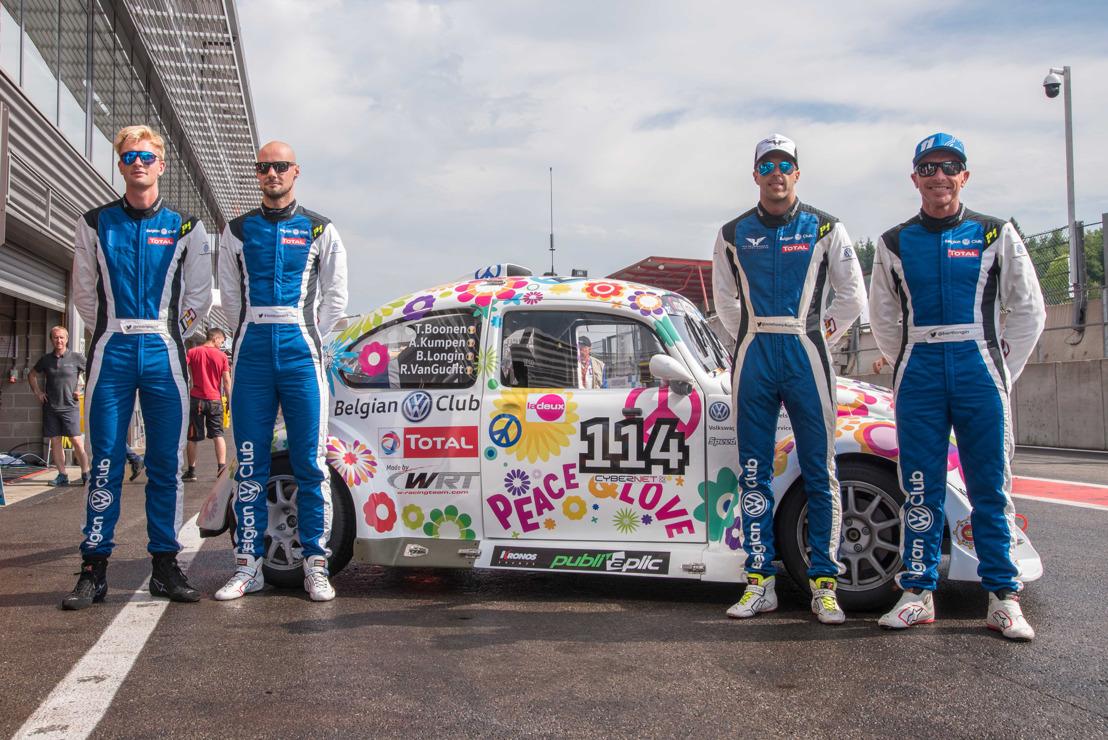 Update Photos (Quentin Champion) - De Belgian VW Club onthult de auto van Tom Boonen, Anthony Kumpen, Bert Longin en Ruben Van Gucht voor de 25 Hours VW Fun Cup