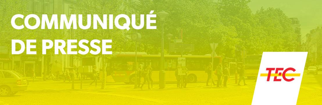 NOUVELLE GARE DES BUS À LA LOUVIÈRE CE 1ER AVRIL