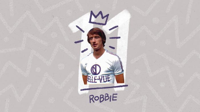 Le RSCA met Robbie Rensenbrink à l'honneur grâce à un nouveau podcast et une réédition du maillot des années 70