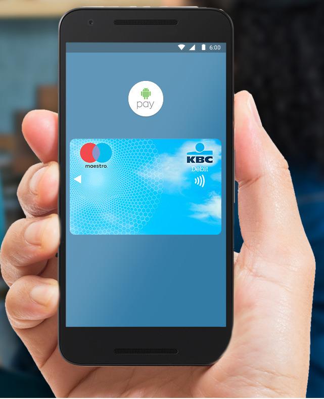 KBC En CBC Lanceren Android Pay Voor Betalingen Gekoppeld