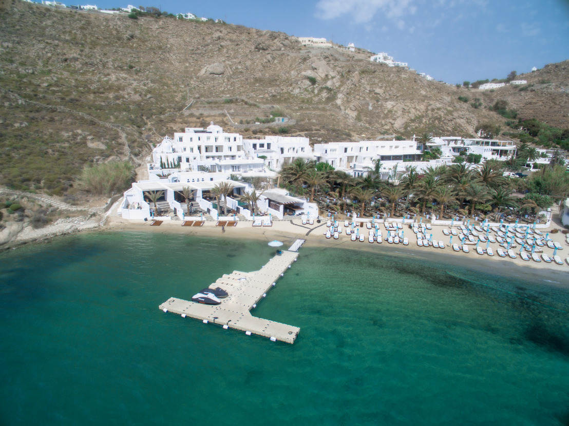 The HOTTEST NEW HOTEL Arrives on Mykonos' MOST EXCLUSIVE BEACH
