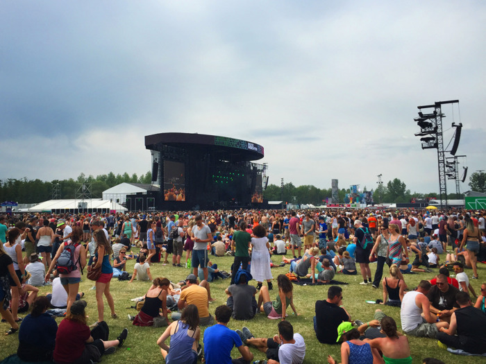 Eventattitude launches the festival season with Rock Werchter…