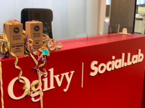 Ogilvy Social.Lab wint 2 BOCA Awards