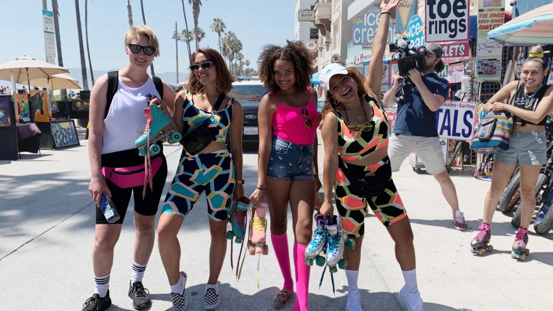 Jonge vrouwen trekken op avontuur naar L.A in het nieuwe realityprogramma Au Pairs