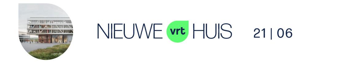 De VRT kiest voor een compact en horizontaal gebouw